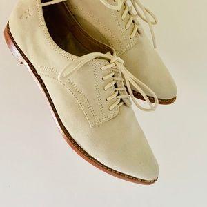 Frye | 'Delia Oxford' Light Beige Women's Shoe 9